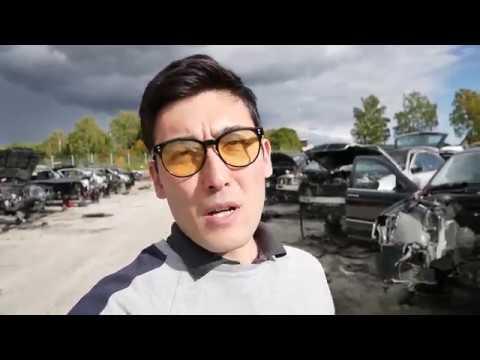 Большая свалка авто в Швеции - Skrot