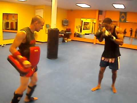 Muay Thai Pad drill 2 Image 1