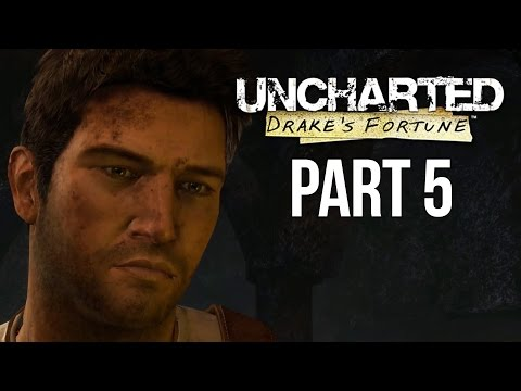 Uncharted The Nathan Drake Collection - Uncharted Drake's Fortune Walkthrough Part 5 - Chapter 16-18