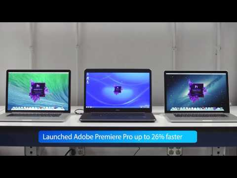 Dell Precision M3800 workstation vs. Apple MacBook Pros