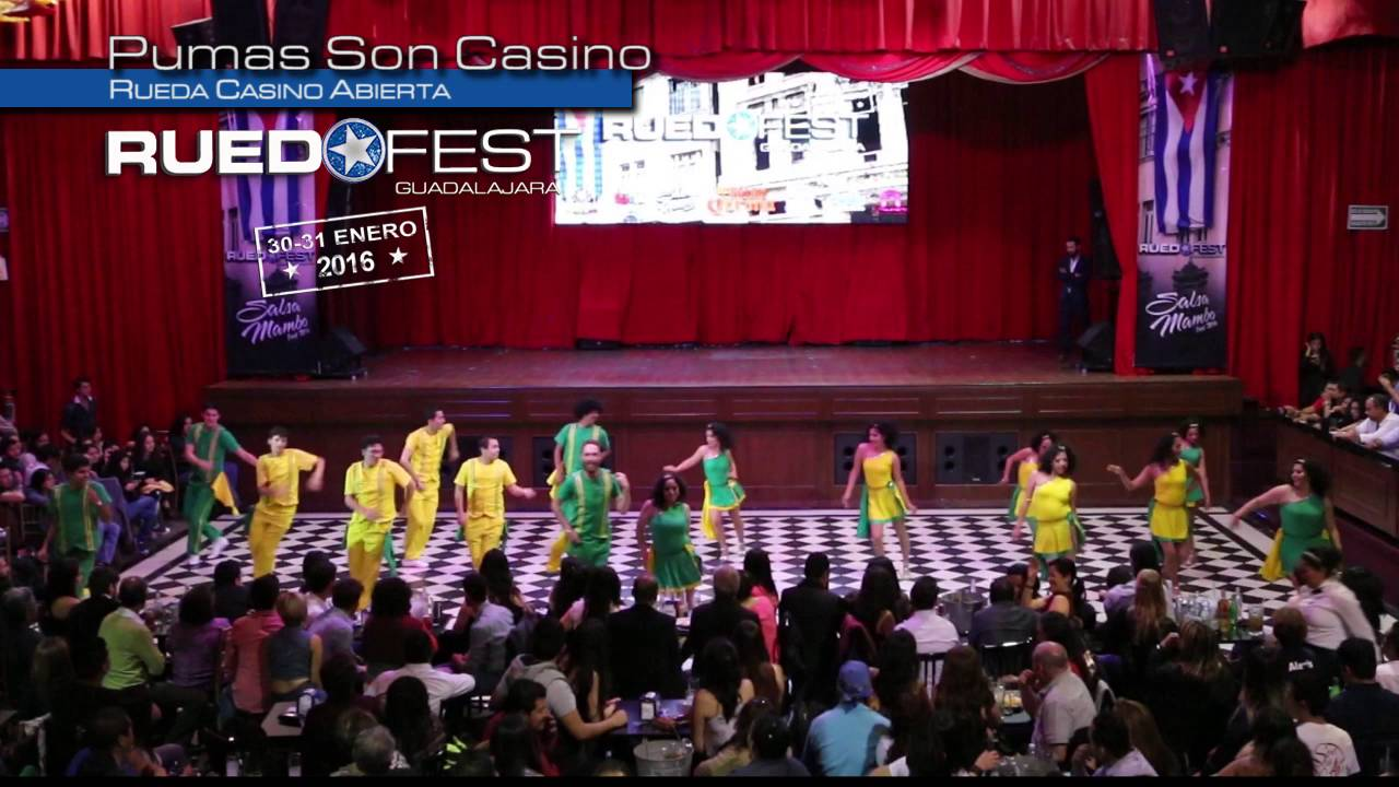 Pumas Son Casino   Rueda Casino Abierta   Ruedafest 2016   Guadalajara