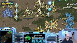 [25.4.19] 스타1 StarCraft Remastered 1:1 (FPVOD) Larva 임홍규 (P) vs A Barcode (Z) Fighting Spirit 투혼