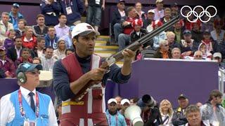 Nasser Al-Attiya v Valeriy Shomin - Skeet Shooting Bronze Medal - London 2012 Olympics