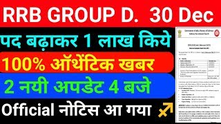 RRB Group D Cut Off 29 December || Railway Group D Expected cut off Marks || RRB Group D Result
