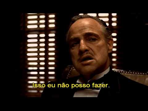 The Godfather opening scene