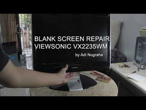 Viewsonic LCD wont start Repair Blank Screen Fix Solved vx2235wm