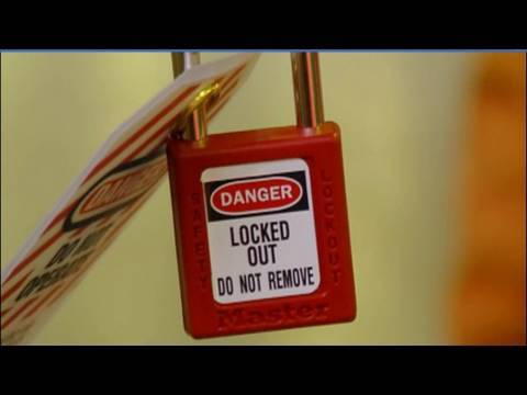 Lockout Tagout Safety Training Dvd 2010 Lock Tag Safe
