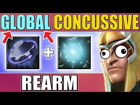 Unlimited GLOBAL Concussive Shot SPAM [Dota 2 WTF Mode in Ability Draft] New Sky Mage Talent Tree