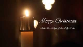 Holy Cross College Choir performs 'For Unto Us a Child is Born' - Merry Christmas - 2014