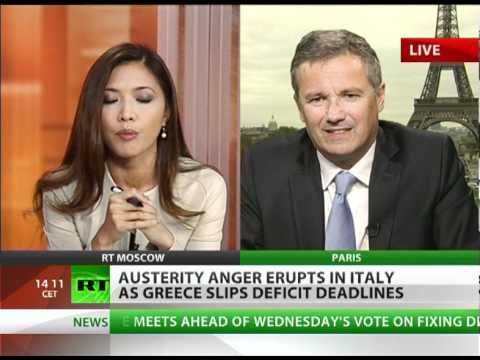 Euro-Explosion: 'Tax-crazed govts act as catalyst for revolt'