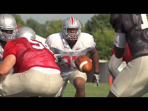 Ohio State Football: Training Camp 8/13/14