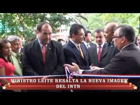 Inauguración de laboratorios de construcción, cueros y afines, en el INTN
