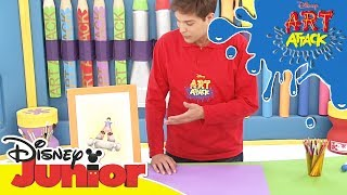 Art Attack Bastelclip #14 - Perspektive | Disney Junior