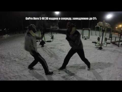 GoPro Hero 5, тест 720p 240 кадров в секунду и 4K 30 кадров в секунду