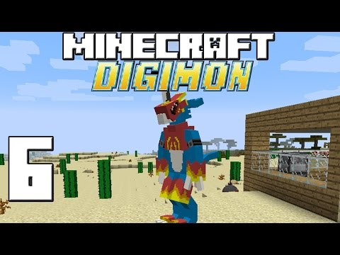 Minecraft Serie Digimon! Capitulo 6! video