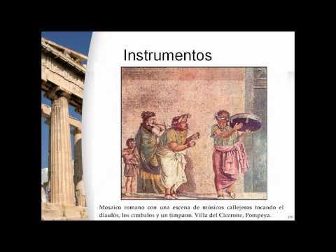 La Musica de la Antigua Grecia