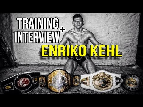 ENRIKO KEHL -- UFC Fight + Training + Interview Image 1