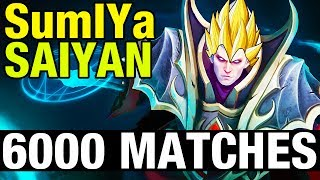 SumIYa SAIYAN - 6000 MATCHES WITH INVOKER - Dota 2