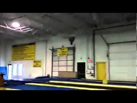 Gymnast Got Some Ridiculous Backflips!