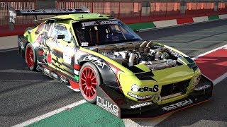 Nissan 180SX Turned Into a Time Attack MONSTER with Sequential Gearbox ONBOARD @ Mugello!