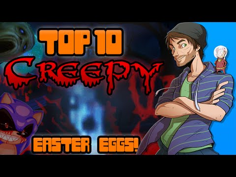 Top 10 Creepy Easter Eggs in Video Games! - Spacehamster #1