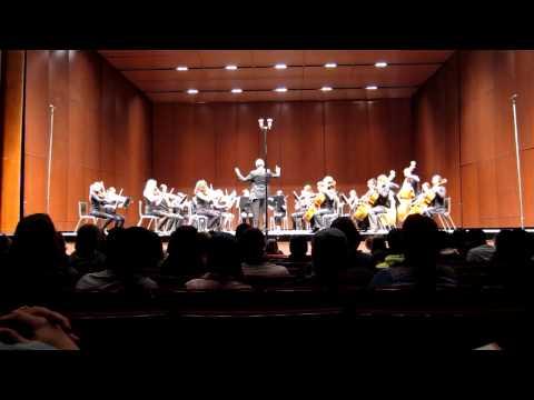 Albuquerque Academy Chamber Players  Sarabande & Gavotte Edvard Grieg