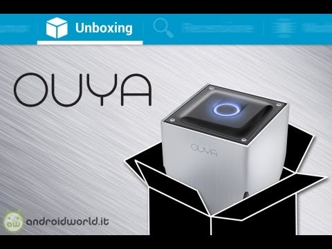 Ouya. unboxing in italiano by AndroidWorld.it