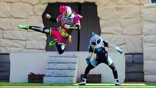 エグゼイドショー 【主題歌Exciteダンス演舞(ブレイブ&エグゼイド)】@よみうりランド ☆ Kamen Rider Ex-Aid(仮面ライダーショー)