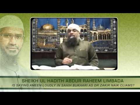 Is Saying Ameen Loudly In Sahih Bukhari? video