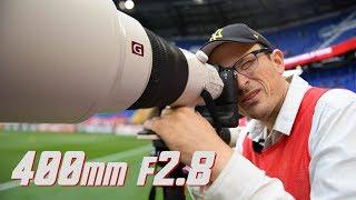 Sony 400mm f2.8 SMOKES the Nikon & Canon, BUT....