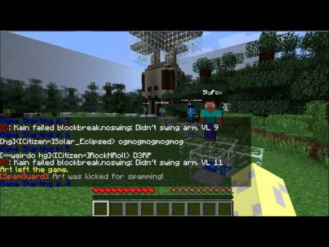 minecraft - cracked automatic hunger games server 1.2.5