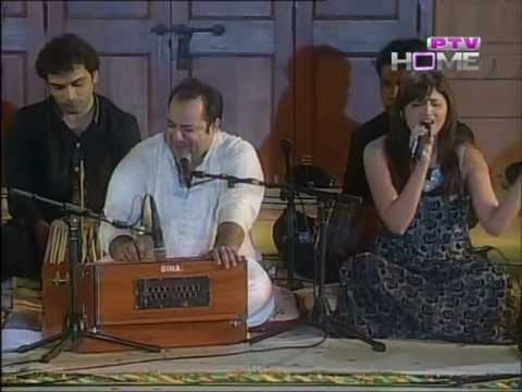 Teri Meri Meri Teri Prem Kahani  P.t.v  Rahat Fateh Ali Khan Show Live