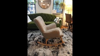 How to convert a chair into a rocking chair!