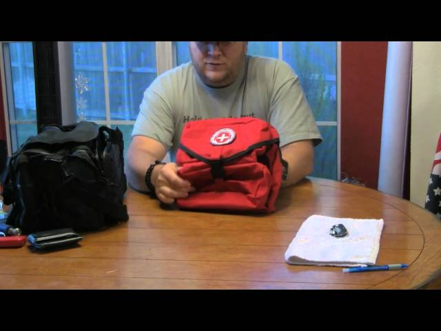 The Survival Podcast M3 Medical Bag