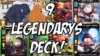 9 LEGENDARY CARDS DECK! - South Park Phone Destroyer