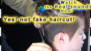 ASMR Two- Block Haircut[Under Cut] 투블럭컷