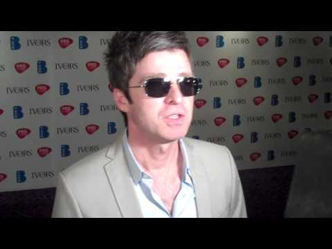Noel Gallagher interview 16.05.13 Ivor Novello Awards, Music-News.com