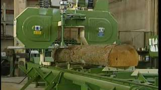 Horzontal Bandmill - Scott & Sargeant Woodworking Machinery