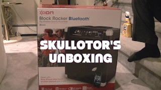 Ion Block Rocker Bluetooth Big Wirless sound everywhere
