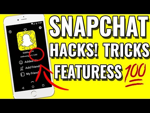 Snapchat Hacks,Awesome New Features,Tips And Tricks NEW For Android & iOS 2017 NEW UPDATED