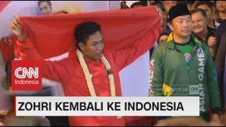 Download Lagu FULL - Begini Meriahnya Suasana Penyambutan Lalu Muhammad Zohri Saat Tiba di Tanah Air Gratis STAFABAND