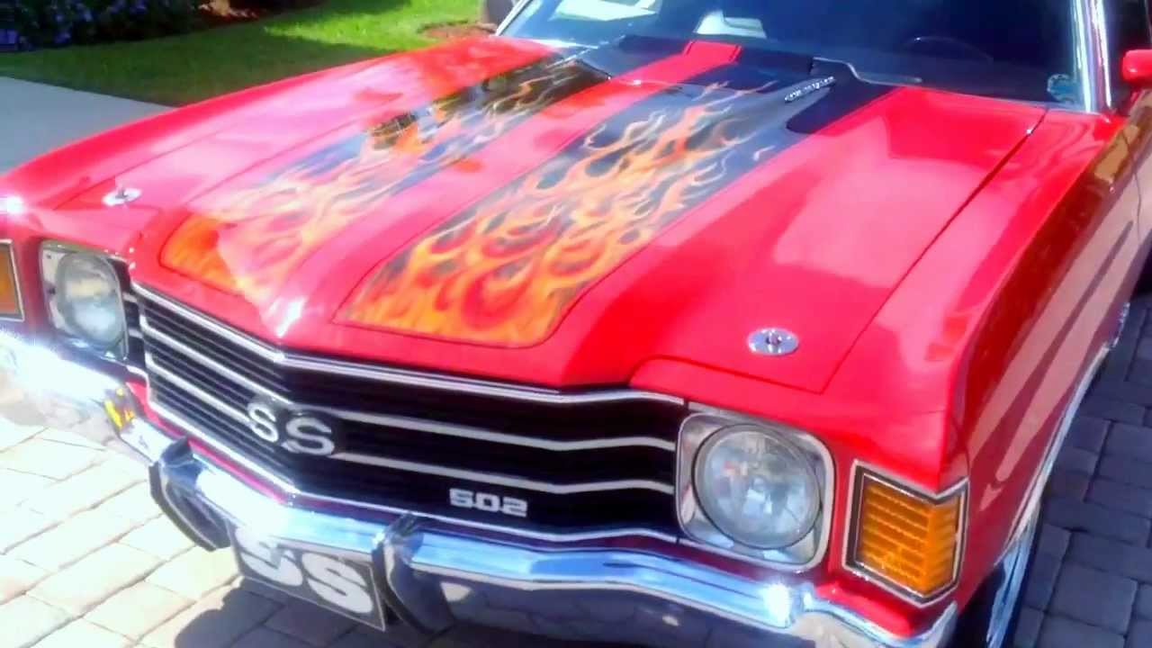 1972 Chevelle Ss 454 True Ss In Hd Youtube