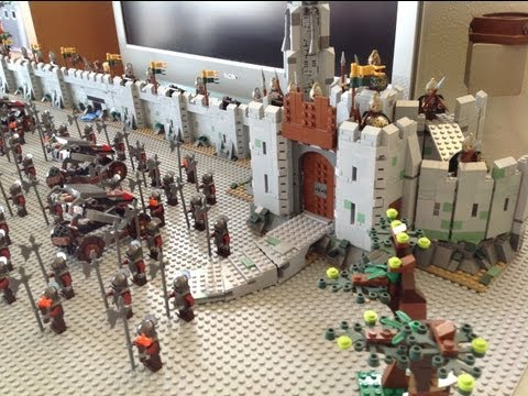 My LEGO Helms Deep Moc