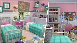 KIDS BEDROOM ft. PARENTHOOD PACK // The Sims 4: Room Build