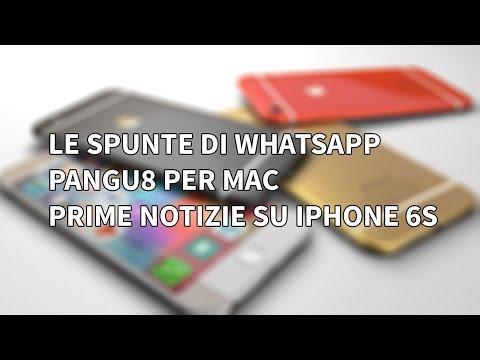 Le spunte di WhatsApp, prime info su iPhone 6s e Jailbreak di iOS 8 - Hot News