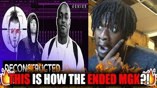 So This Is How They Got Mgk The Making Of Eminem 39 S 34 Killshot 34 With Illadaproducer Reaction