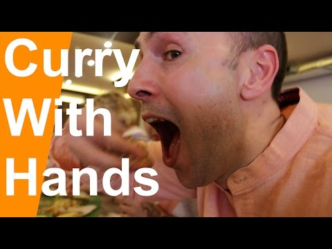 Kerala Sadya How to eat curry with hands Dutchified