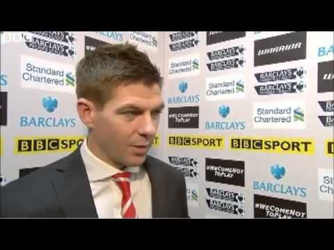 Luis Suarez is player of the year - Steven Gerrard