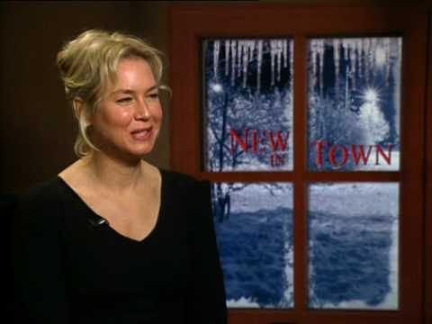 Renee Zellweger interview for the movie New in Town streaming vf