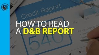 Understanding Dun & Bradstreet